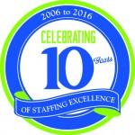 SP 10 Year Sticker